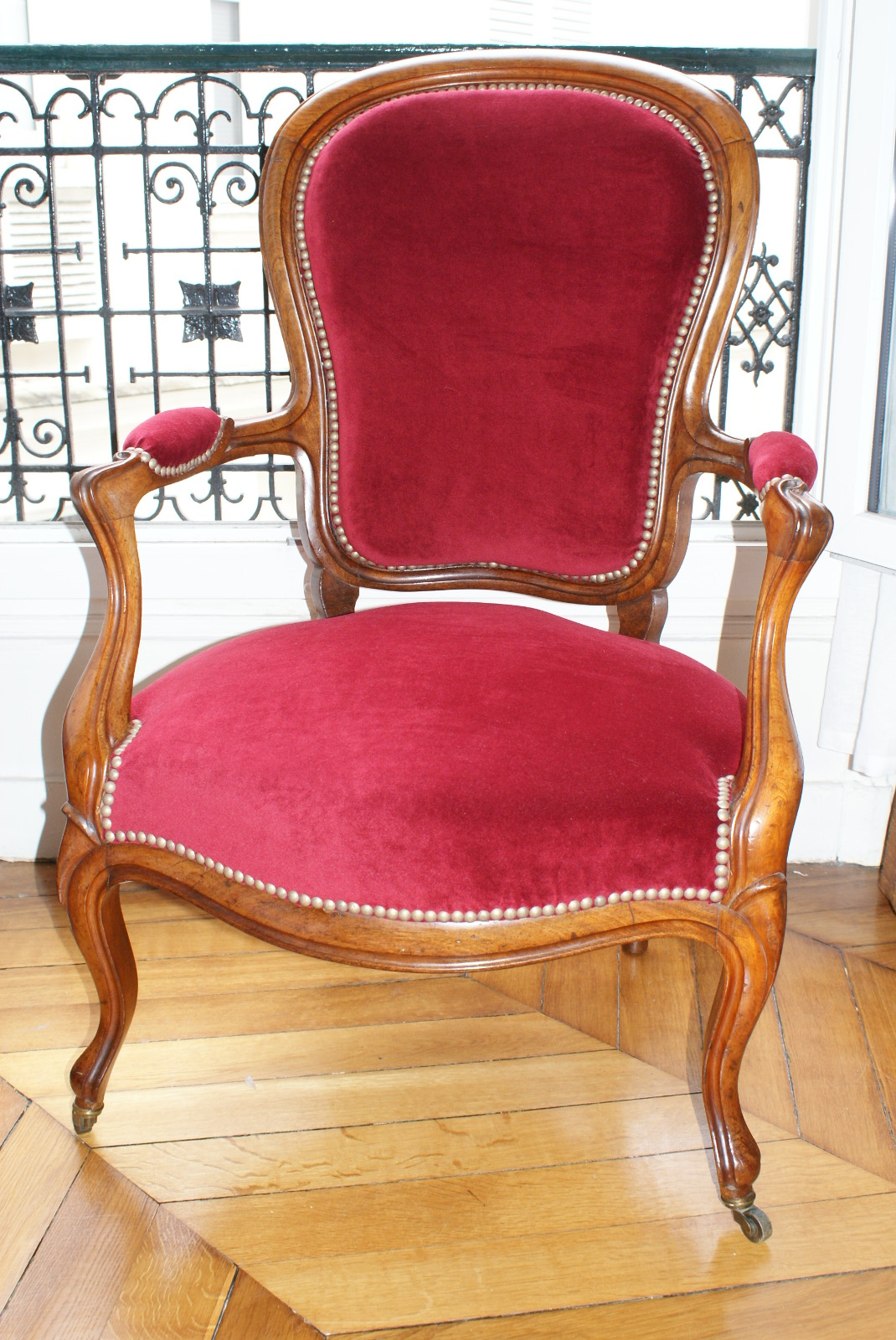 Fauteuil style Louis Philippe après