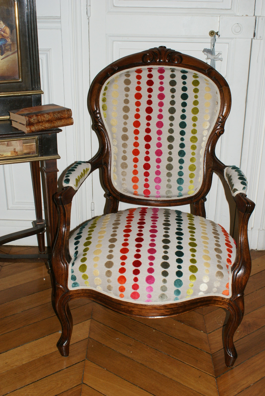 fauteuil napoleon iii. Black Bedroom Furniture Sets. Home Design Ideas